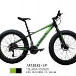 จักรยานล้อโต Kfavor Snow Pro 27 speed ดำ/เขียว