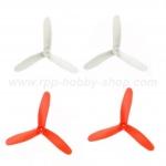 ใบพัด 3 แฉก (สีขาว-ส้ม) : CX-10C, 10W