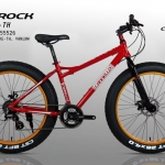 จักรยานล้อโต CANNELLO รุ่น THE ROCK สีแดง