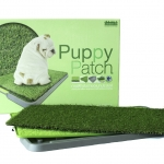 ถาดขับถ่ายเอนกประสงค์พร้อมหญ้าเทียม Greeny Puppy Patch(กล่อง)