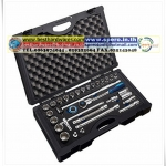 "31PC 1/2"" Dr. Socket Set -12PT & Inch Size"