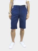 กางเกงขาสั้นชาย ระดับเข่า สีน้ำเงิน