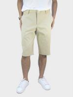 กางเกงขาสั้นชาย ระดับเข่า สีครีม