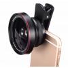 LIEQI คลิปเลนส์ 0.6X Wide-angle 10X Macro-lens รุ่น LQ-025