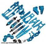 เซ็ตอลูมิเนียมสีฟ้า : 10428 (A,B,C)