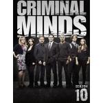 DVD Criminal Minds : The Complete 10th Season ทีมแกร่งเด็ดขั้วอาชญากรรม (อ่านเกมอาชญากร) (ปี 10) 5 แผ่นจบ (ซับไทย)