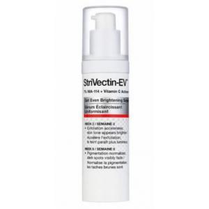 Strivectin-EV Get Even Brightening Serum [30ml/1oz][In Box] เซรั่มเพื่อผิวหน้ากระจ่างใส ลดความเข้มและขนาดจุดด่างดำ สีผิวสม่ำเสมอแลดูอ่อนวัย