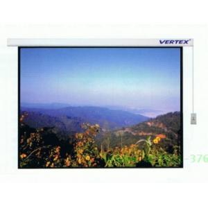 จอฉายแบบมอเตอร์ไฟฟ้า Vertex ขนาดทแยงมุม 150 นิ้ว