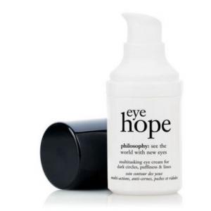 Philosophy eye hope multitasking eye cream [15ml][In Box] ครีมบำรุงรอบดวงตา ช่วยลดเลือนริ้วรอย รอยหมองคล้ำพร้อมช่วยให้ผิวอ่อนนุ่ม ชุ่มชื้น กระชับ