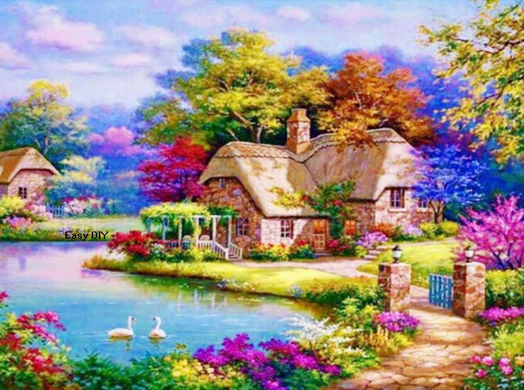 บ้านวิวริมทะเลสาบ