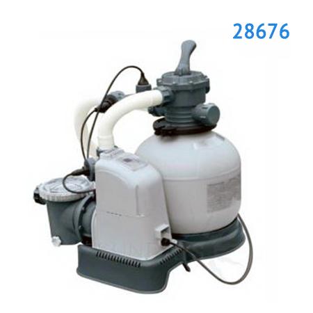 เครื่องกรองน้ำระบบน้ำเกลือ-ทราย Intex (อี.ซี.โอ.) 6,000 ลิตร