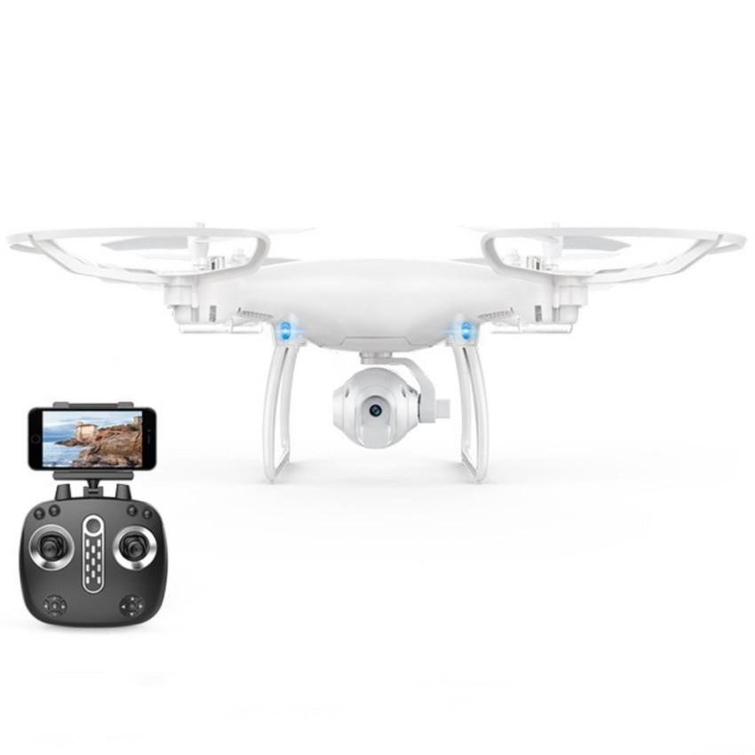 โดรนติดกล้อง Skydrone LH-X25 บินนิ่งขึ้น FPV Wifi Real Time 2.4G (สีขาว)
