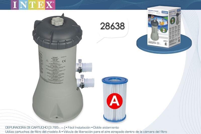 Intex เครื่องกรอกระบบไส้กรอง 28638 [ FIL IN ]