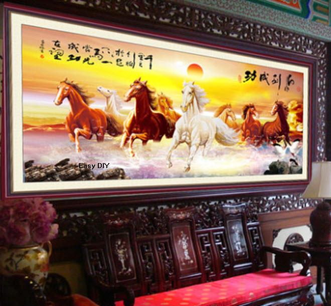 ม้า 8 ตัววิ่งลุยน้ำ 2