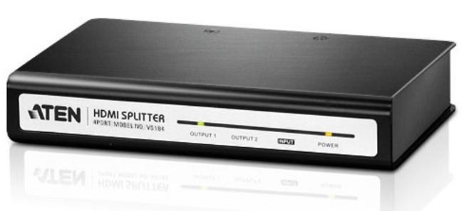 กล่องแยกสัญญาณ HDMI ยีห้อ Aten รุ่น VS184A