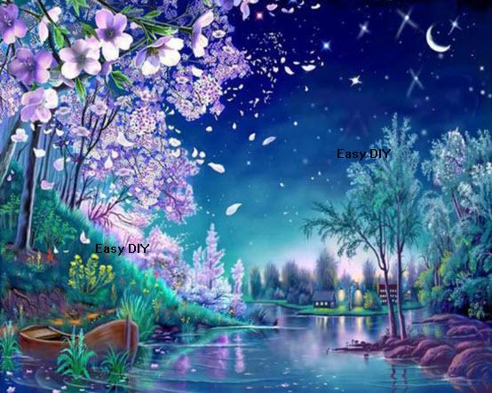 ธรรมชาติยามค่ำคืนแสนงดงาม