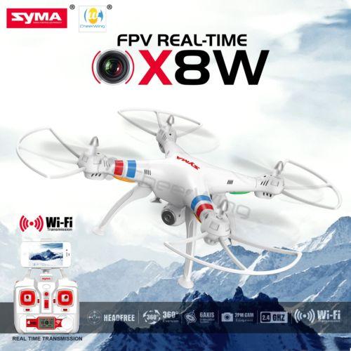 SYMA FPV รุ่น X8W (Real-Time) โดรนติดกล้องถ่ายภาพมุมสูง