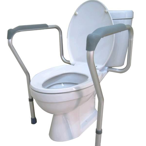 ราวพยุงตัวห้องน้ำ โถสุขภัณฑ์ นั่งถ่าย นั่งราบ เหมาะกับผู้สูงอายุ ผู้ป่วย ผ่าตัด แบบติดกับโถ ร้านมีขายราคาถูก