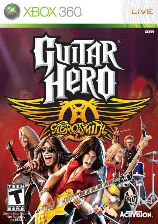 Guitar Heroes Aerosmith
