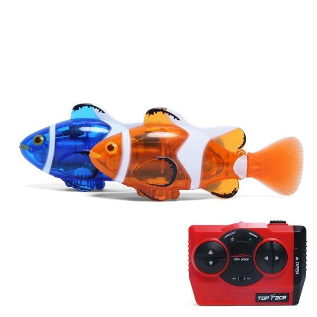 Mini RC Clownfishมินิ rc ปลาการ์ตูน ควบคุมระยะไกลด้วยอินฟราเรด น่ารัก