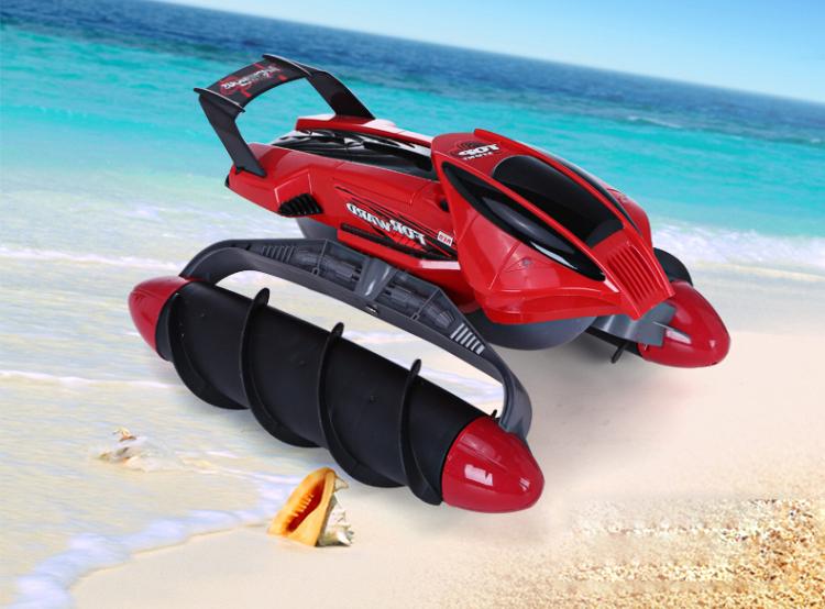 Upper Amphibious Stunt Car [ที่สุดของรถสะเทือนน้ำ-สะเทือนบก]
