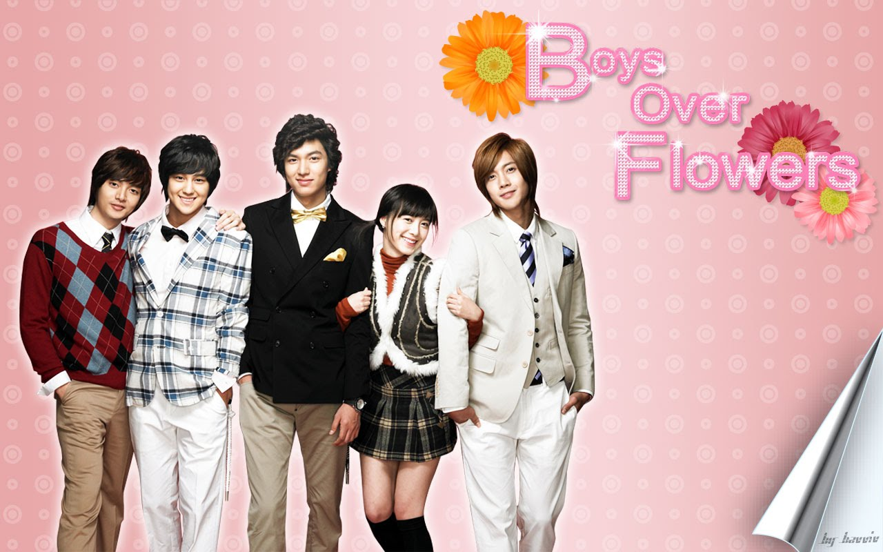 DVD Boys Over Flowers (F4 เกาหลี) รักฉบับใหม่ หัวใจ 4 ดวง 13 แผ่นจบ (HDTV 2 ภาษา) *ซับจากร้านโม