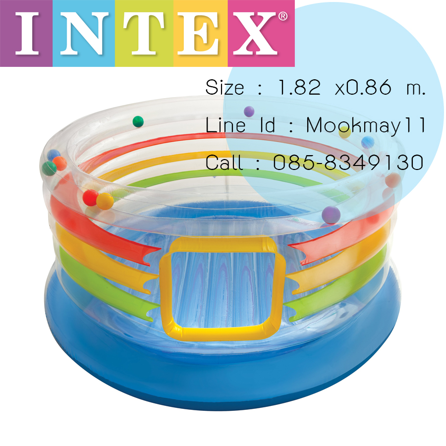 Intex Clear View Jump-O-Lene บ่อกระโดดใสขอบลูกบอล 48264