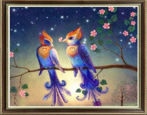 นกกระตั้วคู่รัก