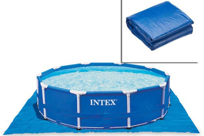 Intex Ground Cloth for Swimming Pools ผ้าปูพื้นรองสระ 28048