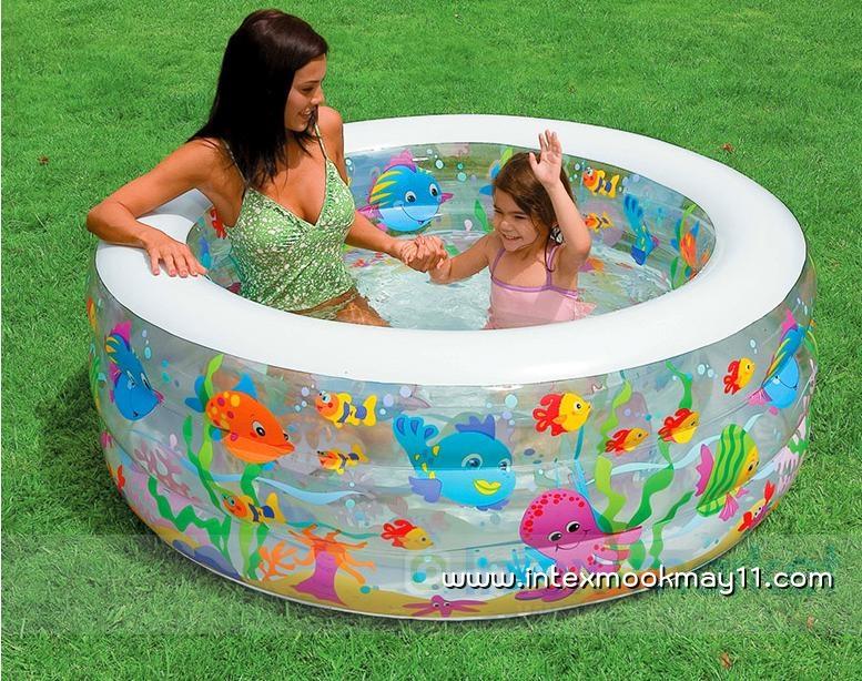 Intex Aquarium Swimming Pool สระน้ำเป่าลมแฟนซีสำหรับเด็ก 58480