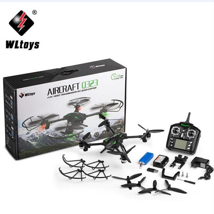 WLtoys Q323(E) WIFI FPV 720P กล้องชัด HD [ดูภาพสดผ่านจอมือถือ, ล็อคความสูง, กล้องปรับก้มเงยได้, กล้องชัด, มีเมม 4GB]
