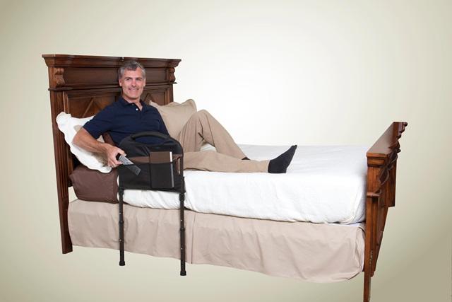 ราวเตียงพยุงตัว กั้นที่นอน กันตกเตียง แบบโค้ง ผู้สูงอายุ ผู้ป่วย เคลื่อนไหวลำบาก ร้านมีขายในราคาถูก
