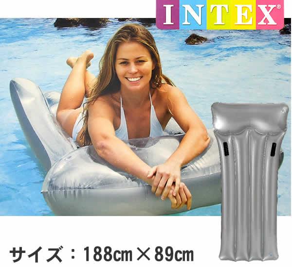 แพยาง Intex ห่วงยาง ในสระน้ำ intex 59726