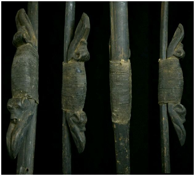 งานไม้เก่าศิลปะพม่า