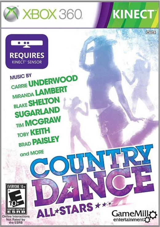 Country Dance All Stars Kinect [Kinect][RGH]
