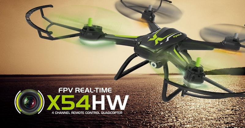 Syma X54HW With Wifi FPV HD Camera 2.4G 4CH 6Axis