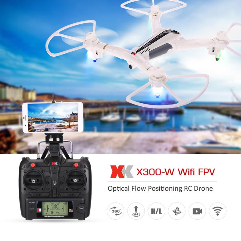 โดรน XK X300-W Wifi (รีโมทใหญ่) FPV 720P optical positioning บินนิ่งแบบไม่ง้อGPS