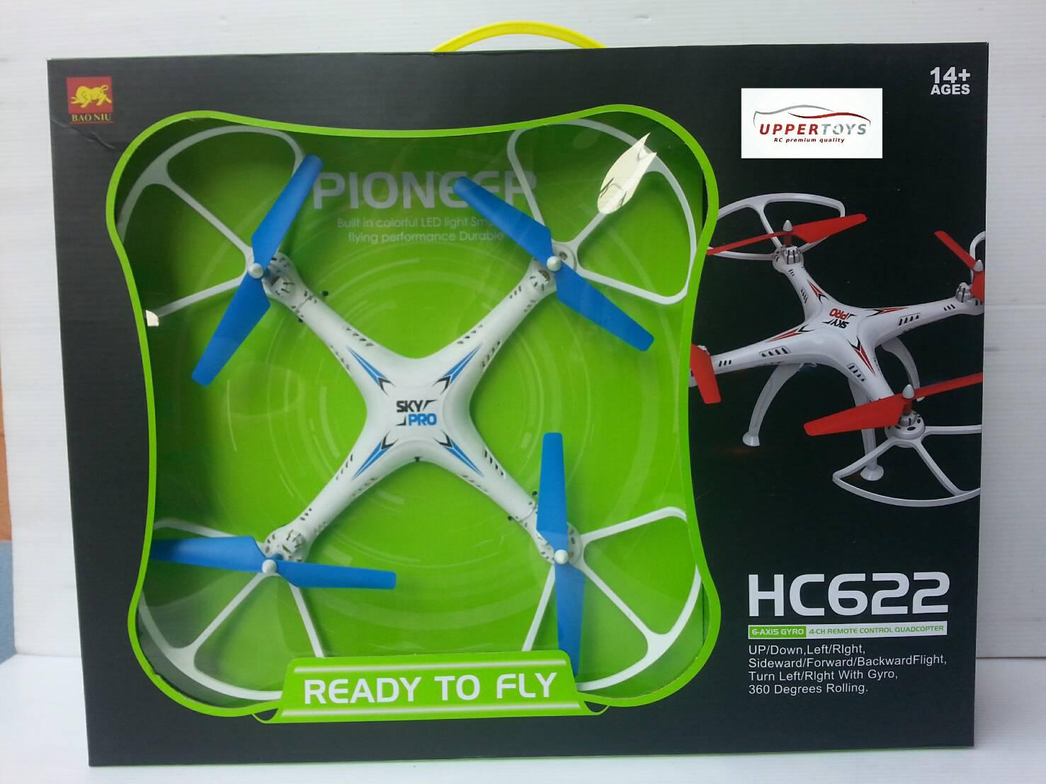 โดรนฝึกบิน HC622 pineer 6-axis gyro 4CH