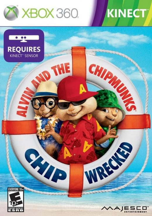Alvin and the Chipmunks Chipwrecked [Kinect][RGH]