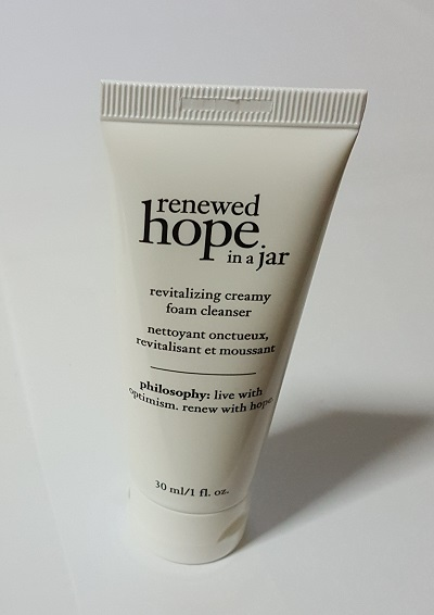 philosophy renewed hope in a jar revitalizing creamy foam [30ml]