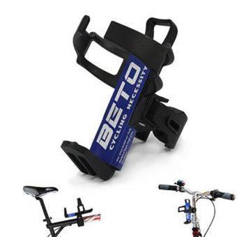 ขากระติกปลดเร็ว ขากระติกแบบก้ามปู ที่วางกระติกน้ำจักรยาน ติดแนวตั้งได้ แนวนอนได้ ย้ายที่ติดได้ง่าย BETO - Black