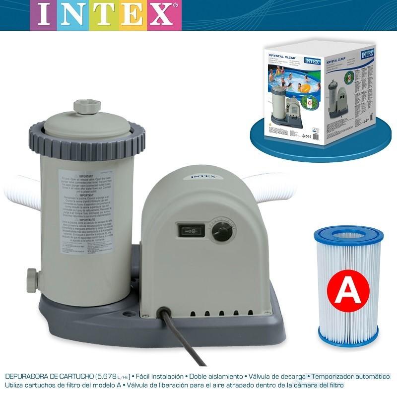 Intex เครื่องกรองระบบไส้กรอง 28636 [12-18 ft.]