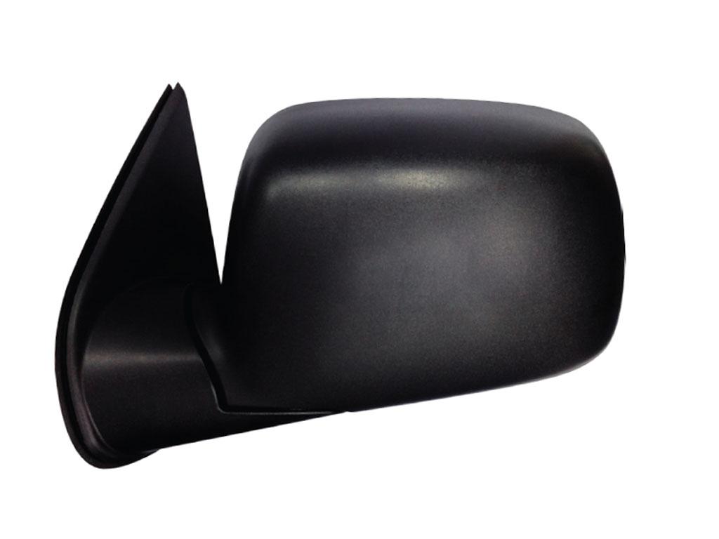 15-837 R/L Side View Morror, Black (Manual)