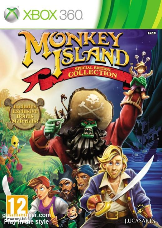 The Secret of Monkey Island: Special Edition [RGH]
