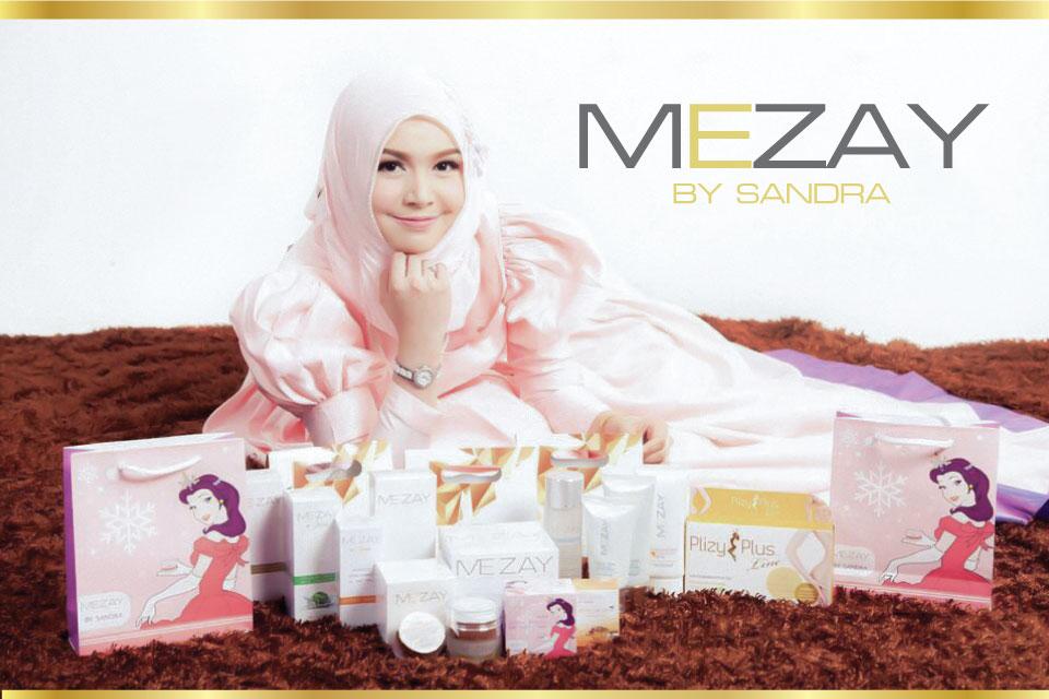 ผลิตภัณฑ์บำรุงผิวหน้าแบรนด์ Mezay By Sandra