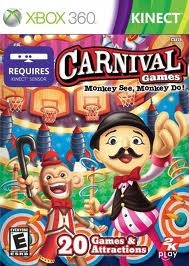 Carnival Games Monkey See Monkey Do (Kinect)