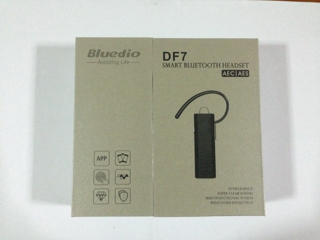 หน้ากล่อง หูฟังบลูทูธแบบสอดหู Bluedio DF7 สีขาว