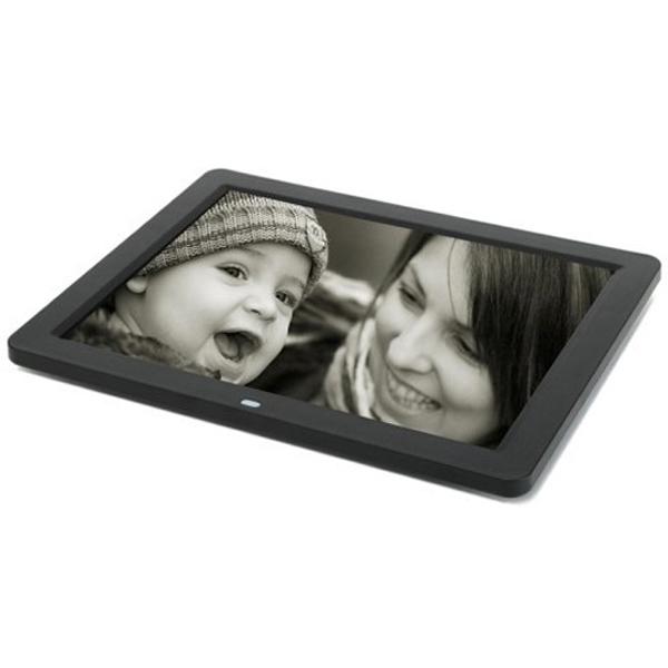 กรอบรูปดิจิตอล Digital Photo Frame จอ LCD ขนาด 12 นิ้ว สีดำ