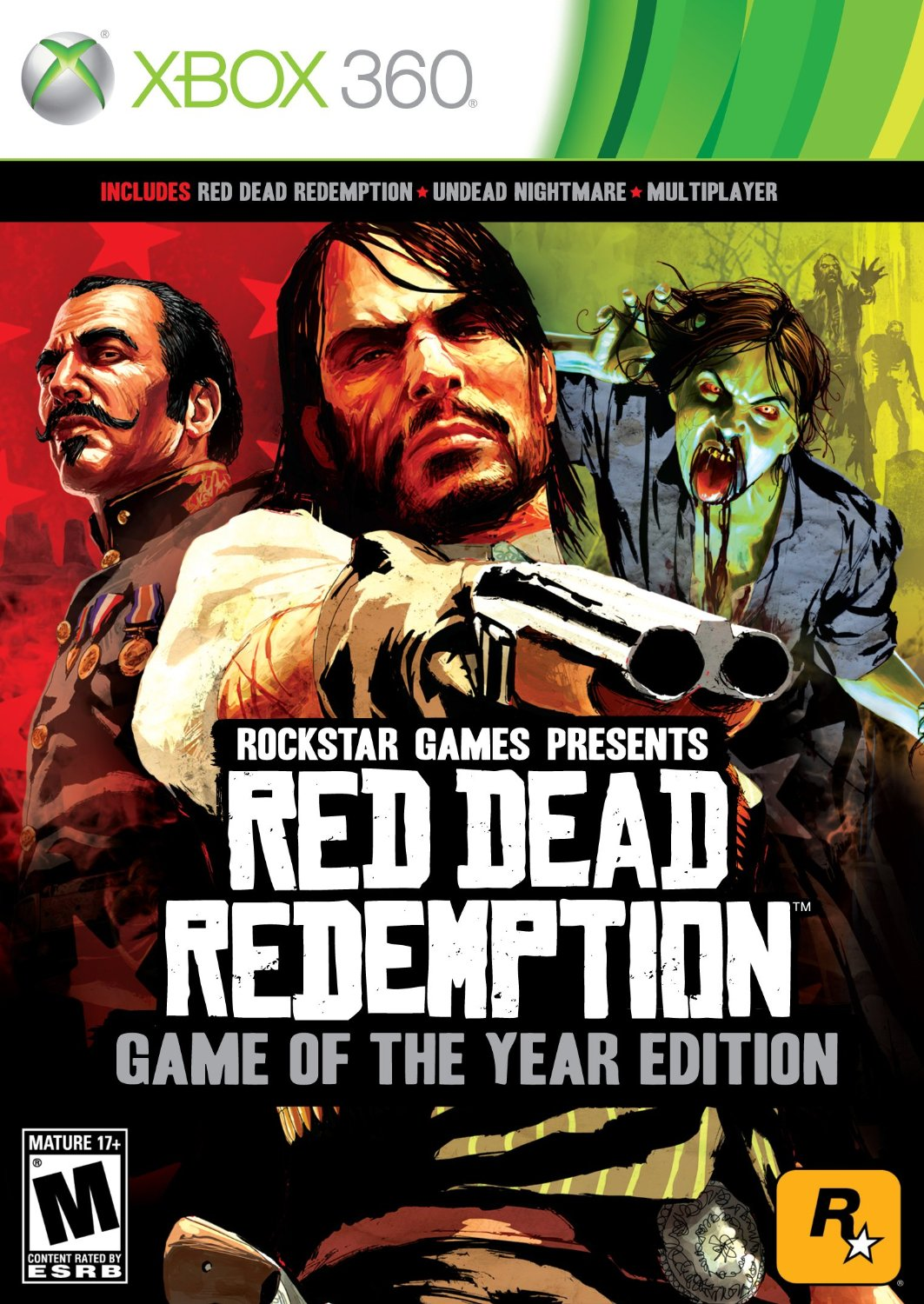 Red Dead Redemption: Game of the Year Edition (2 Disc)