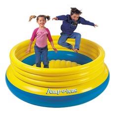 Intex Jump O Lene Ring Bounce Kids 48267 เบาะกระโดดจั๊มโอลีนสีเหลือง รุ่น 48267